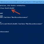 Leistungsindex Windows 8.1