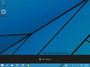 Windows 10 Add a Desktop