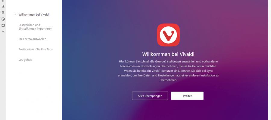 Vivaldi Browser der Opera Nachfolger