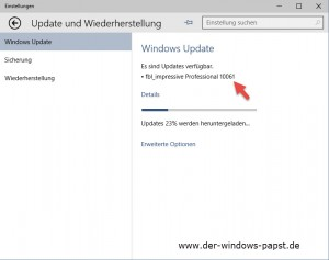 Windows 10 Technical Preview Build 10061