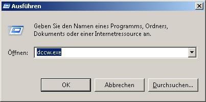 Windows screen color calibration dccw