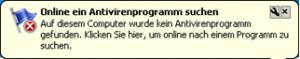 Online ein Antivirenprogramm suchen