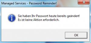 Passwort Reminder