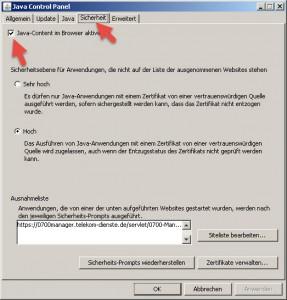 Sicherheitslücke in Java-Version 1.8.0.45