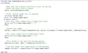 Excel Code