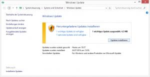 Windows Update Fenster
