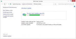 Windows Update Suche