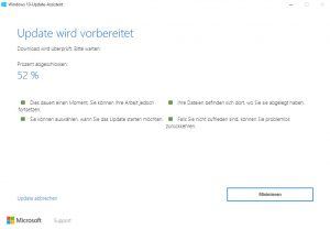 Windows 10 Anniversary Update wird vorbereitet