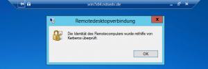RDP-Kerberos-Identität