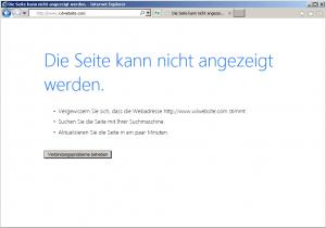 xxlwebsite-nicht-erreichbar