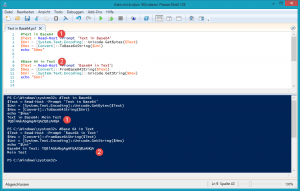 Powershell Base64 in Text in Base64