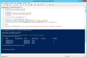 Powershell FileSystemWatcher