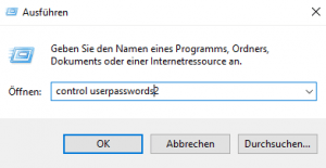 cmd control userpasswords2