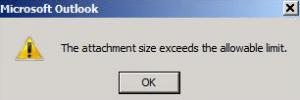 maximum attachment size