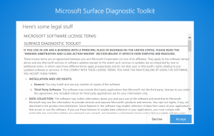 Surface Diagnostic Tool
