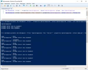 Search Server Typ OS