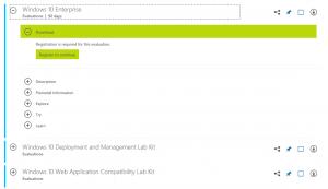 Windows 10 v1709 Evaluation ISO Download