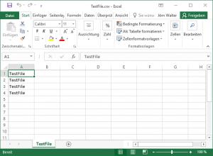 Leerzeilen entfernt csv Datei Powershell