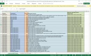 Windows Security Audit Events