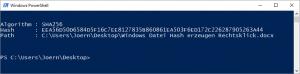 SHA256 File Hash
