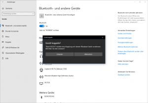 Bose mit Windows 10 koppeln