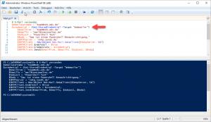 Windows Anmeldeinformation Powershell E Mail versenden