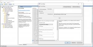 Firefox 60 Gruppenrichtlinie Proxy Settings