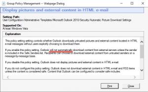 Outlook 2016 automatische Bilder Download