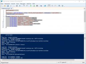 Powershell Windows Autostart Programme