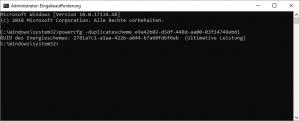 Windows 10 1803 Ultimative Leistung