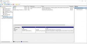 Windows 10 Funktionsupdate 1803 Wenig Speicherplatz Computerverwaltung