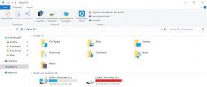 Windows 10 Funktionsupdate 1803 Wiederherstellungspartition