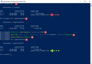 Powershell Copy File WINRM