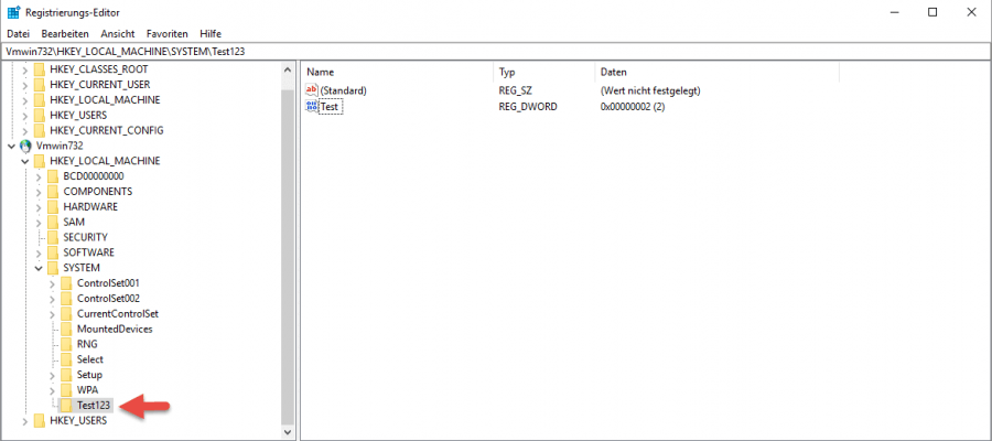 Remote Registry Heimnetzwerk