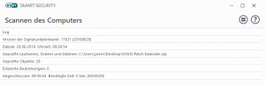 Viren Scan WSUS Patch Kalender