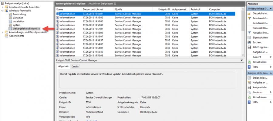 Windows Event Forwarding