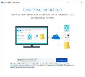 OneDrive weiteres Konto hinzufügen 1