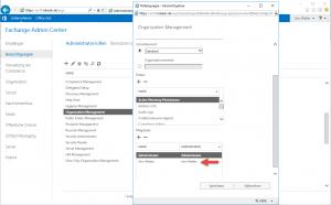 Exchange delete Mailbox Content Organization Management