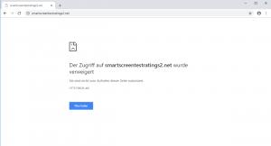 Google Chrome SmartScreen Protection