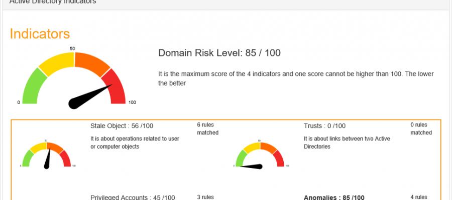 PingCastle Risk Analyse