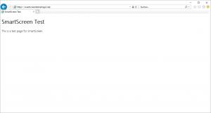 SmartScreen Filter Internet Explorer unsecure