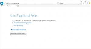 Webseiten blockieren hosts Datei