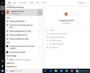 Windows 10 Suche reparieren