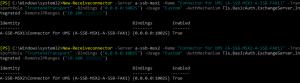 Exchange Server 2016 FaxConnector einrichten
