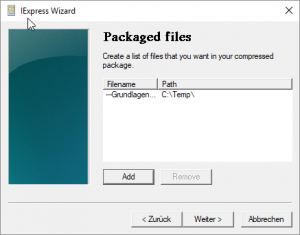 Packaged Files