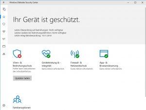 Windows Defender Signatur Updates löschen
