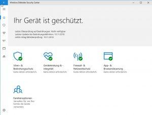 Windows Defender Signatur Updates reparieren