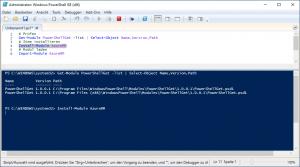 Powershell Modul AzureRM installieren