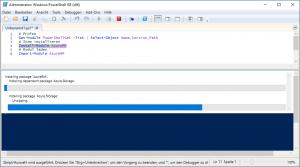 Powershell Modul AzureRM installing