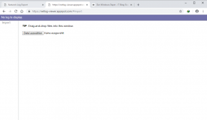 NetLog Viewer Chrome